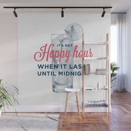 Happy Hour, Midnight Wall Mural