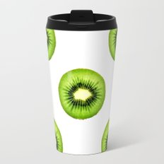Kiwi Fruit Slice Travel Mug