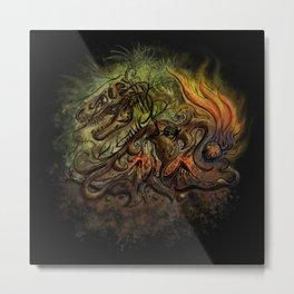 Extinction Chaos Metal Print