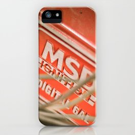 Under the Hood 3 iPhone Case