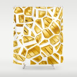 Goldie VII Shower Curtain