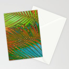 TROPICAL LEAVES POP-ART no4 Stationery Cards