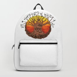 Logo, Sunset Variant Backpack