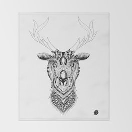 Elilia Stag Throw Blanket
