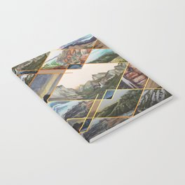 Diamond Mountains Notebook