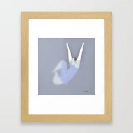 Dona d'aigua I Framed Art Print