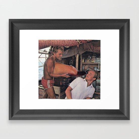 Bros Framed Art Print