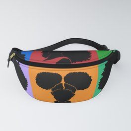 FOR COLORED GIRLS COLLECTION COLLAGE Fanny Pack