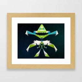 MechaDragon Framed Art Print