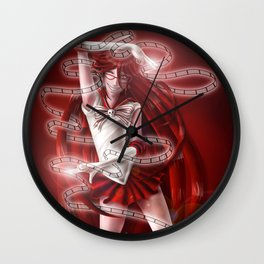 Sailor Senshi Grell Wall Clock