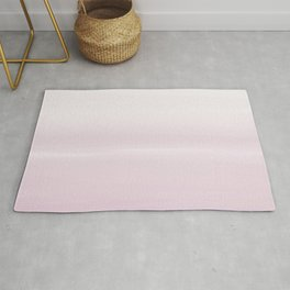 Fog Pink - Abstract Art Series by Jennifer Berdy Rug