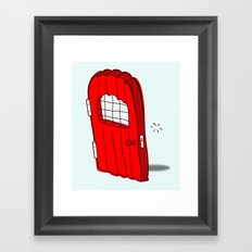 The Mediocre Entrance of Something Invisible Framed Art Print