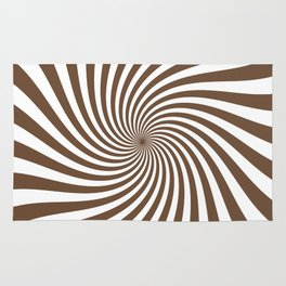 Swirl (Coffee/White) Rug