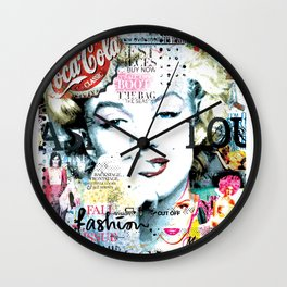 Fashion Magazine Wall Clock