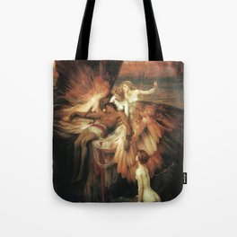Mourning for Icarus - Draper Herbert James Tote Bag