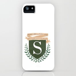 Hogwart Coat of Arms iPhone Case
