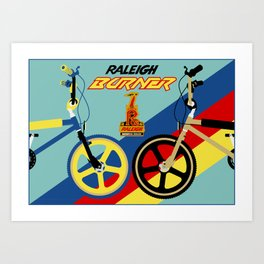 Burners Art Print