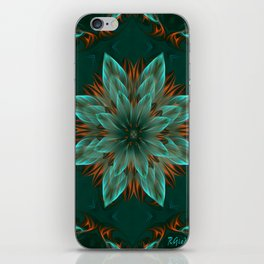 The flower of hope  iPhone Skin
