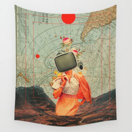 Antarctic Broadcast Wall Tapestry