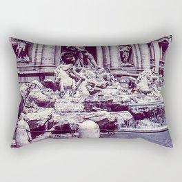 Vintage Photo * 1940's * Fontana di Trevi * Trevi Fountain * Rome * Italy Rectangular Pillow