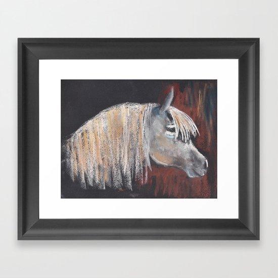 Horse 5 ing Framed Art Print