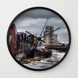 River Hull Wall Clock