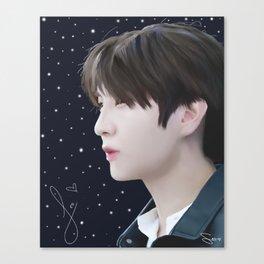 Leo's Starlight Canvas Print