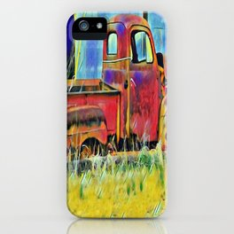 """ Vintage Truck "" iPhone Case"