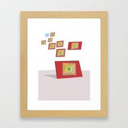 Teluric Notebook Framed Art Print
