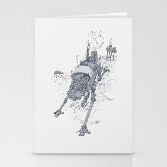 an even longer time ago Stationery Cards