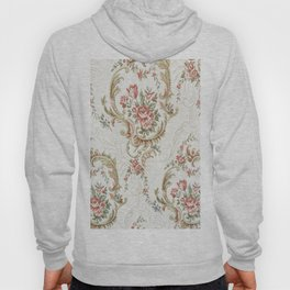 Antique fabrique wall paper Hoody