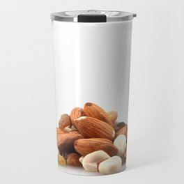 Pile Of Assorted Nuts Travel Mug