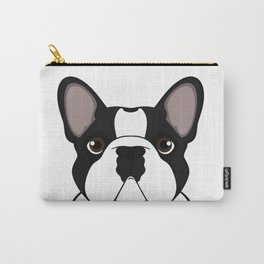 Frenchie - Brindle Pied Carry-All Pouch