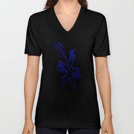 Glow Lily Unisex V-Neck