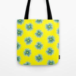 Geo Spring Flowers 02 Tote Bag