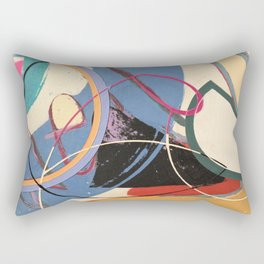 Unusually Composed Rectangular Pillow