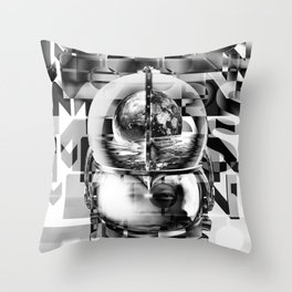 SpacedOut Throw Pillow