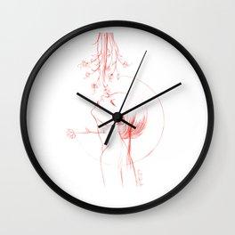 flower viewing Wall Clock
