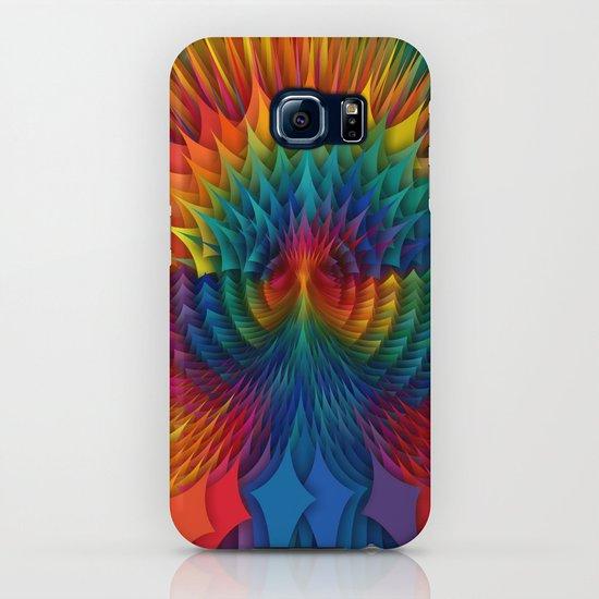 b661489774a03 Phoenix Rainbow Geometry iPhone Case