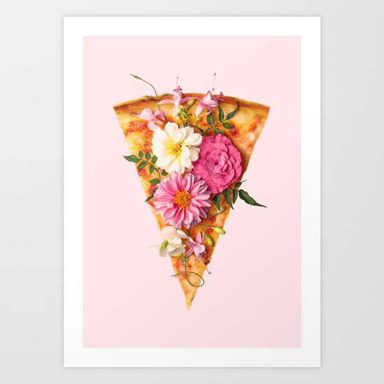 FLORAL PIZZA by paulfuentes