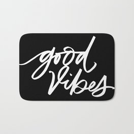 Good Vibes Bath Mat