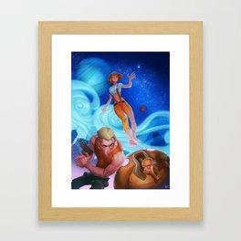 Leeloo Framed Art Print