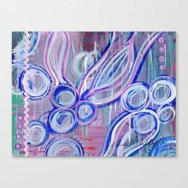 Pink Rick Rack Canvas Print