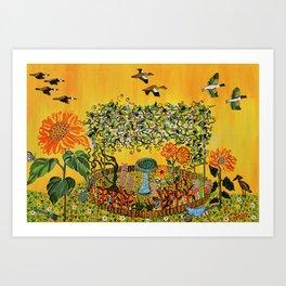 """""""Fiori della Passione"""" by ICA PAVON Art Print"""