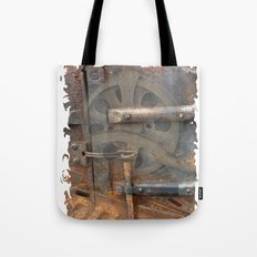 Rusty Stuff Montage Tote Bag