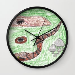 Copperhead! Wall Clock