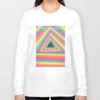floyd Long Sleeve T-shirts featuring Pink Floyd by Balansaaaaaaaa