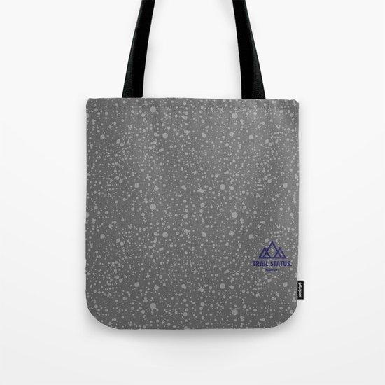 Trail Status / Stone Grey Tote Bag
