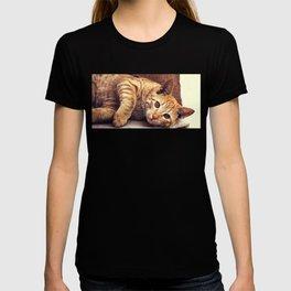 Cat roux T-shirt