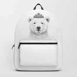 Queen bear Backpack